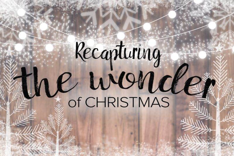 recapturing the wonder of christmas series trinity churchsermons from this series